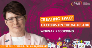 Creating Space to Focus on the Value Add: a recording of our webinar