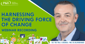 Harnessing the Driving Force of Change: a recording of our webinar